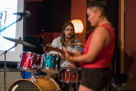 Jon Glancy plays with Diana Oh